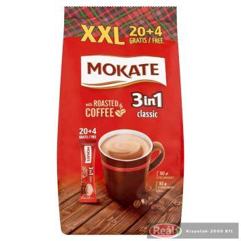 Mokate 3:1 instant kávé XXL csomag (20+4)*17g