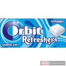 Orbit Refresher Handypack rágó Peppermint 7db