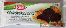 Reál Piskótakorong sárgabarack ízű zselével 135g