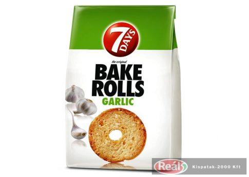 7 Days bake rolls chrumkavé chipsy cesnakové 80g