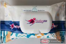 Baby Fin nedves babatörlőkendő 72db KUPAKOS