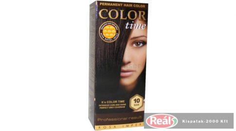 COLOR TIME hajfesték 10 fekete