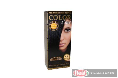 COLOR TIME hajfesték 11 - kékes fekete