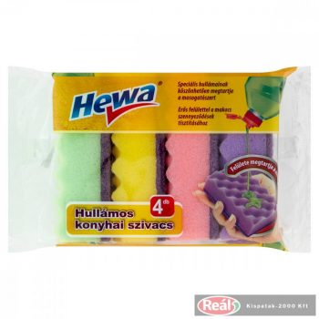 Hewa hullámos mosogatószivacs 4db
