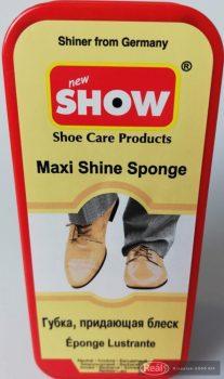 SHOW Maxi fényesítő szivacs - átlátszó