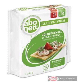 Abonett extrudált kenyér 100g zöldséges gluténmentes