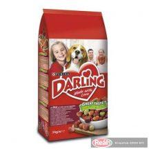Darling hús-zöldség száraz kutyaeledel 3kg