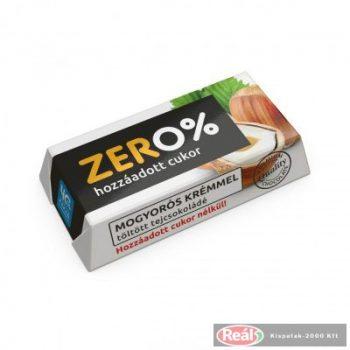 ZERO Mogyoró ízű krém.tölt.tejcsokoládé édesítőszerrel 21g