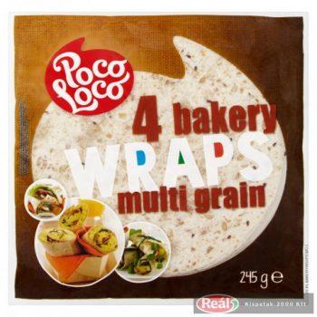 Poco Loco Lágy tortilla sokmagvas 4Bakery 245g