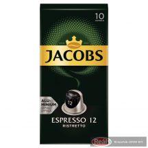 Jacobs kapszulás kávé 10db-os NCC Espresso Ristretto