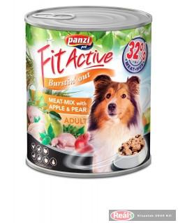 FitActive DOG 415g konzerv meat-mix