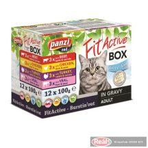 FitActive FITABOX tasakos macskaeledel 12x100g