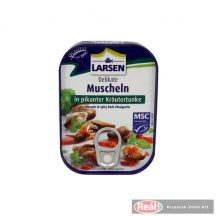 Larsen kagyló fűszeres pácban 75g töltőtömeg /110g