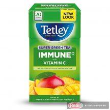 Tetley Immune gyümölcstea C vitaminnal citrom-gyömbér 20x2g