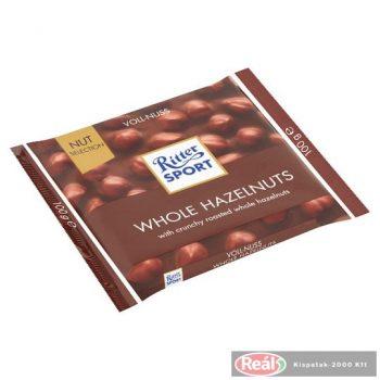 Ritter Sport Selection 100g Tejcsokoládé egész mogyorós