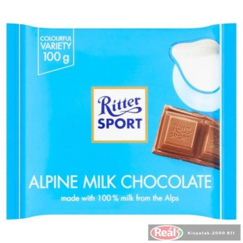 Ritter Sport  Alpesi tejcsokoládé 100g