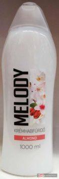 Melody habfürdő 1l Mandula