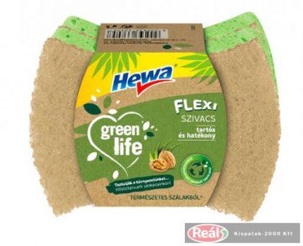 Hewa Green Life Szivacs Konyhai Flexi 2db mosogatószivacs