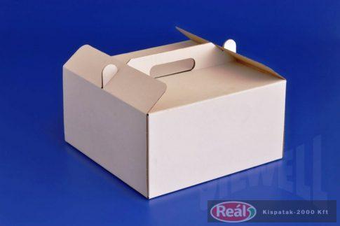 Tortadoboz Papír füles 30*30*18 cm