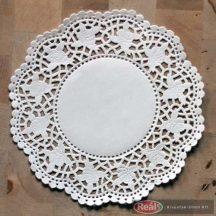 Tortacsipke kerek fehér 320mm 100db