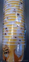 Fagyis színes papírtégely / pohár  245ml 25db
