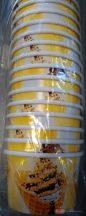 Fagyis színes papírtégely / pohár  130ml 25db