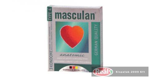 Masculan-4 zöld gumióvszer 3db