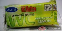 Mattes toalett frissítő blokk utántöltő 1db 40g citrom illat