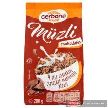 Cerbona müzli 200g csokoládés