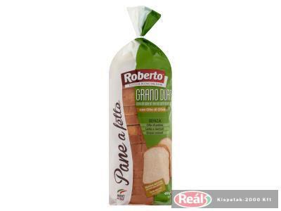Roberto szeletelt kenyér 400g durum