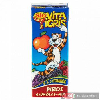Sio gyümölcslé 0,2l Vitatigris piros 25% dobozos