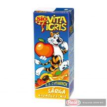 Sio gyümölcslé 0,2l Vitatigris sárga dobozos
