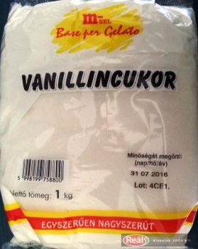 Vaniliacukor 1kg M-Gel