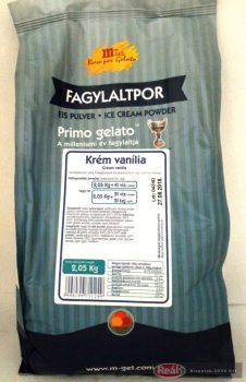 Fagyipor krém vanilia 2,05kg