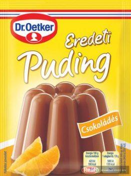 Dr.Oetker Eredeti puding 49g Csokoládés