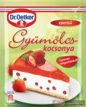 Dr.Oetker Gyümölcskocsonya Eper 90/100g