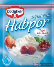 Dr.Oetker tejszín ízű habpor 45g