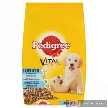 Pedigree száraz kutyaeledel 500g Junior