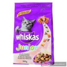 Whiskas száraz macskaeledel 300g junior töltött falat