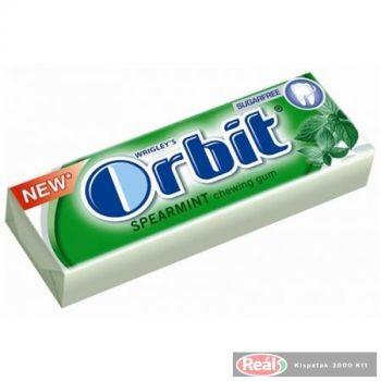 Orbit rágógumi 10db 14g Spearmint