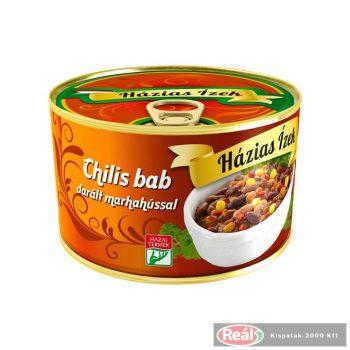 Szegedi paprika készétel 400g chilis bab darált marhahússal