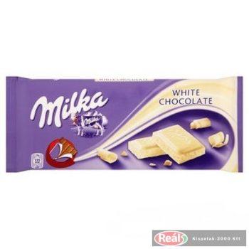 Milka 100g fehér