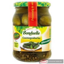 Bonduelle uhorky nakladačky 3-6cm,300g/580ml