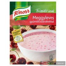 Knorr Frissítő Ízek meggyleves gyümölcsdarabokkal 56g