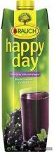Happy Day Family gyümölcslé 1l 25% feketeribizli dobozos