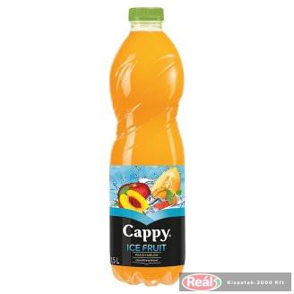 Cappy Ice Fruit gyümölcslé 1,5l alma-?szibar.-sárgadinnye