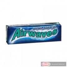 Airwaves rágógumi 10db 14g menthol eucalyptus