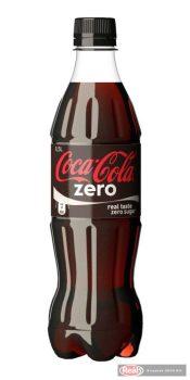 Coca Cola szénsavas üdítő 0,5l Zero PET