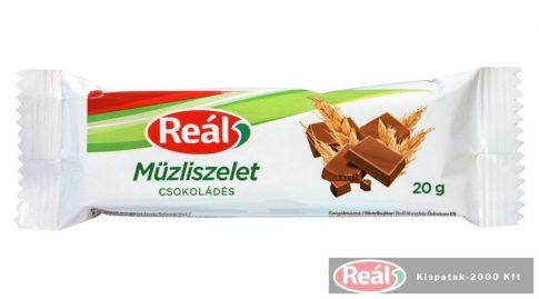 Reál müzliszelet 20g csokis