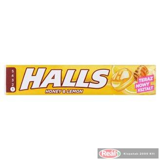 Halls cukorka 33,5g méz-citrom